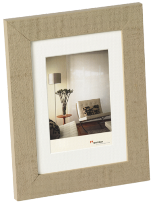 Walther Home               20x30 Wooden Frame brown beige  HO030C
